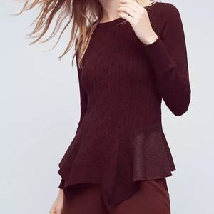 Anthropologie Knitted and Knotted Audrey Sweater